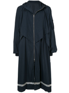Juun.J oversized hooded raincoat