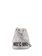 Moschino logo bucket bag