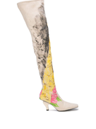 Neith Nyer Eiffel Tower boots