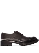 Alexander McQueen pebbled brogues