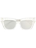 Jimmy Choo Eyewear crystal-embellished sunglasses