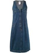 فستان جينز متوسط الطول من شانيل
