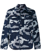 Valentino camouflage denim jacket