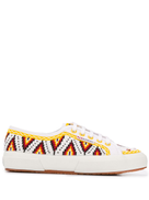 Alanui embroidered sneakers