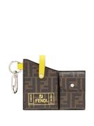 Fendi monogram pocket charm