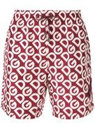 دولتشي آند غابانا شورت سباحة بطبعة شعار Dolce & Gabbana
