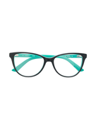 Calvin Klein colour block glasses