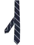 ربطة عنق كلاسيكية مخططة من Thom Browne Banker