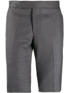 Thom Browne super 120s twill shorts
