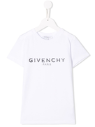 Givenchy Kids contrast logo T-shirt