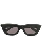 Kuboraum rectangular frame sunglasses