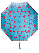 Moschino heart air balloon umbrella