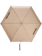 Moschino couture-print umbrella