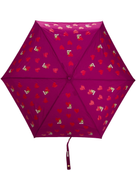 Moschino heart bear pattern umbrella