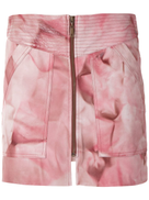 Andrea Bogosian Plata leather skirt