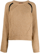 colville boxy fit cut-out detail sweater