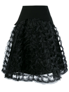 Comme Des Garçons Noir Kei Ninomiya Comme Des Garons Noir Kei Ninomiya ruffled sculptural A-line skirt