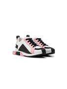 Dolce Gabanna Dolce & Gabbana Kids colour blocked sneakers
