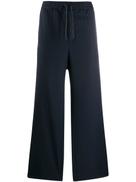 Qasimi drawstring waist trousers