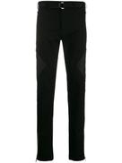 Les Hommes zip panel trousers
