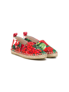 Dolce Gabanna Dolce & Gabbana Kids floral espadrilles