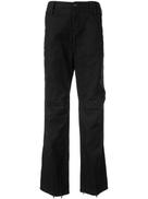 Helmut Lang Pre-Owned 2000's zipped slim trousers