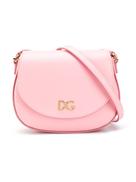Dolce Gabanna Dolce & Gabbana Kids logo plaque shoulder bag