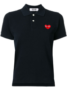 Comme Des Garçons Play Comme Des Garons Play heart patch polo shirt