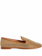Giuseppe Zanotti Lindy crystal-embellished loafers