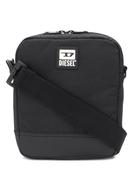 Diesel logo patch crossbody bag