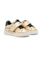 Dolce Gabanna Dolce & Gabbana Kids logo-print sneakers