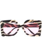 جوتشي نظارة شمسية غوتشي كبيرة الحجم