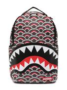 Sprayground geometric print backpack