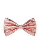 Hucklebones London metallic-effect bow-shaped hair clip