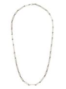 M. Cohen sterling silver rectangular-link necklace