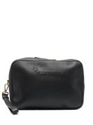Billionaire debossed-logo leather beauty case