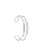 Off-White paperclip open cuff bracelet