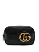 Gucci GG leather pouch