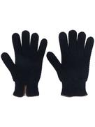 Lady Anne aran-knit gloves