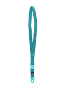 Stone Island logo-print neck keyring