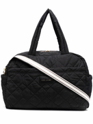 Marc Jacobs logo-patch luggage bag