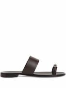 Giuseppe Zanotti Norbert metal toe sandals