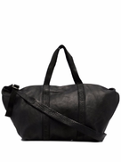 Guidi top-handle zipped holdall