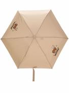 Moschino Teddy Bear logo-print umbrella