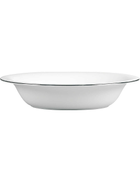 VERA WANG WEDGWOOD Blanc sur Blanc open vegetable dish 25cm x 20cm