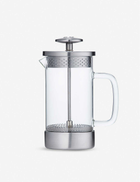 BARISTA & CO Three cup borosilicate glass and stainless-steel coffee press 350ml