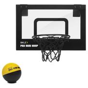 SKLZ Pro Mini Hoop Micro Compact Pro Grade Backboard Break Away Steel Rim And Foam Ball