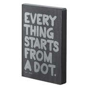 Nuuna Graphic L Everything Starts From A Dot Notebook