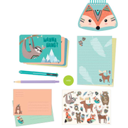 Ooly On The Go Stationery Kit Forest Friends
