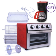 FancyMiracle Air Fryer Convection Oven 25L & drip coffee